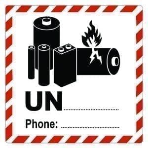 naklejka ADR 9 UN Baterie i ogniwa – Dodaj swój zadruk
